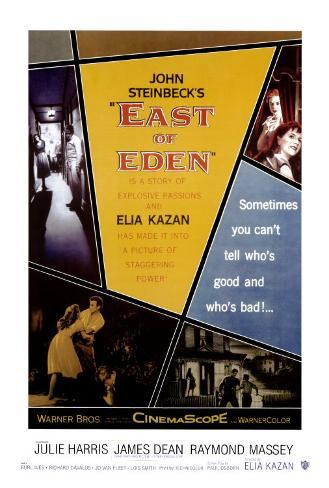 East Of Eden Pôster emoldurado