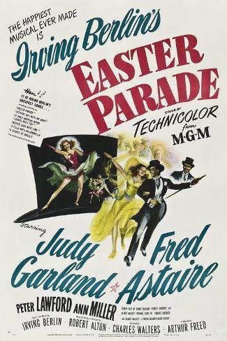 Easter Parade, 1948 Giclee Print