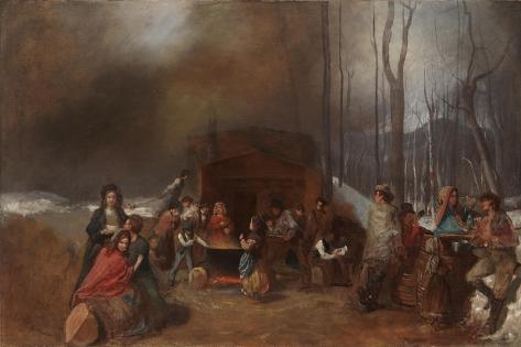 Sugaring Off, C.1865 Lámina giclée