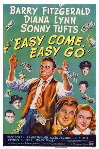 Easy Come, Easy Go, 1947 Art Print