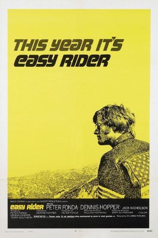 Easy Rider, 1969 Giclee Print
