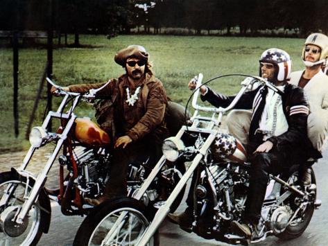 Easy Rider, Dennis Hopper, Peter Fonda, Jack Nicholson, 1969 Photo