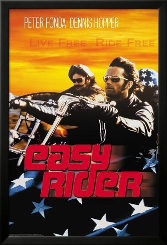 Easy Rider - Live Free Lamina Framed Poster