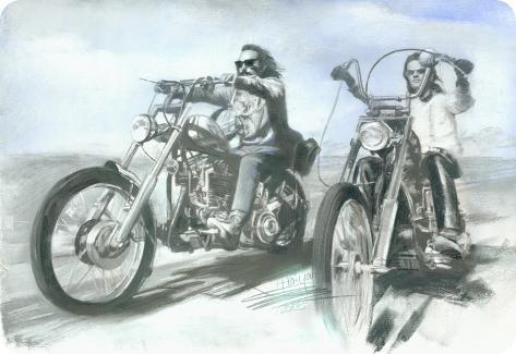 Easy Rider Tin Sign