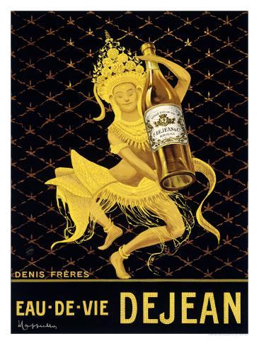 Eau-De-Vie Dejean Giclee Print