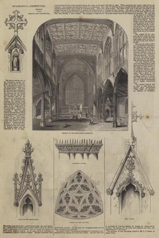 Ecclesiastical Architecture, Church of the Immaculate Conception Giclee Print