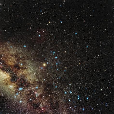Centre of Milky Way Lámina fotográfica