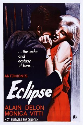Eclipse, (aka L'Eclisse), 1962 Konstprint