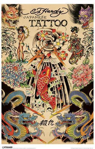 Ed Hardy - Japanese Masterprint