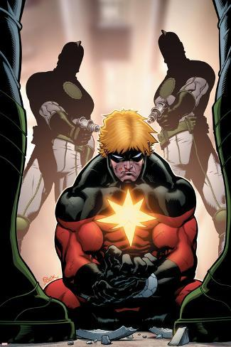 Captain Marvel No.4 Cover: Captain Marvel Poster