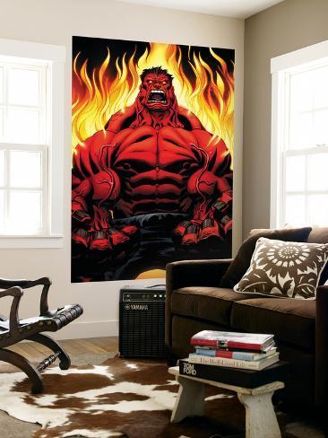 Hulk No.1 Cover: Hulk Wall Mural