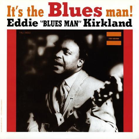 Eddie Kirkland - It's the Blues Man! Wall Decal