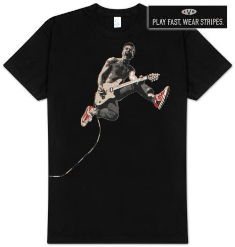 Eddie Van Halen - Edward Jumping T-Shirt