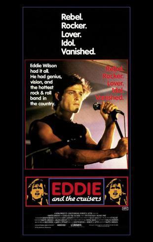 Eddie y los Cruisiers Lámina maestra