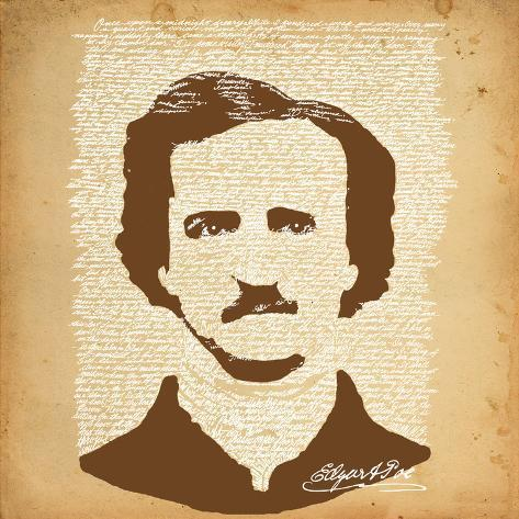 Edgar Allan Poe Lámina
