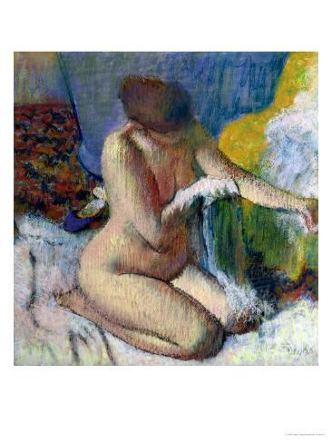 After the Bath Giclee Print