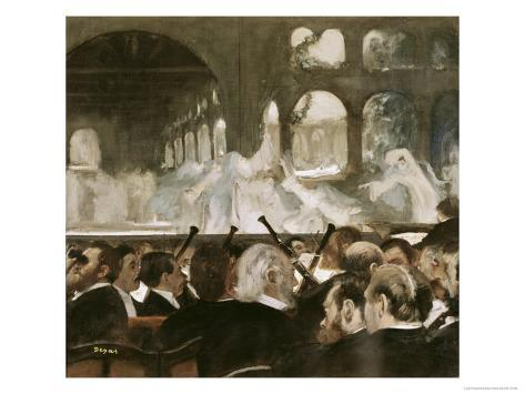 Ballet Scene from Mayerbeer's Roberto Il Diavola Giclee Print