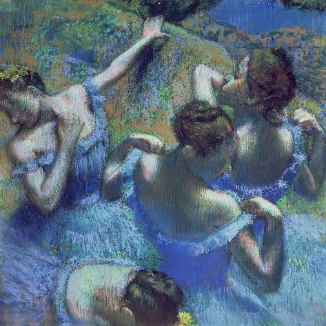 Blue Dancers, circa 1899 Giclee Print