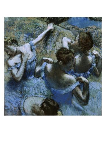 Blue Dancers Giclee Print