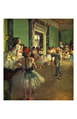 Dance Class Giclee Print