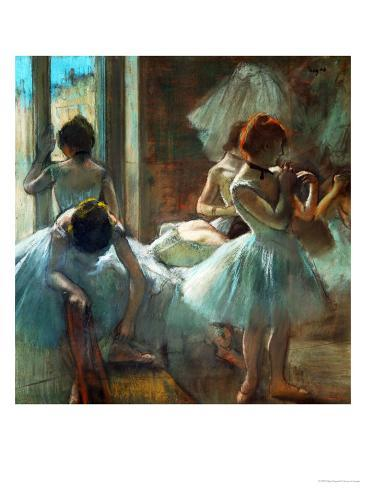 Dancers at Rest, 1884-1885 Giclee Print