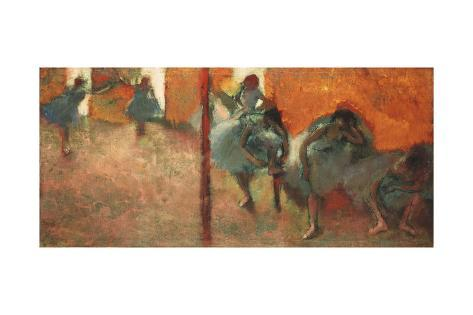 Dancers in a Studio, 1900-05 Lámina giclée