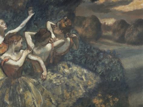 Four Dancers Giclee Print