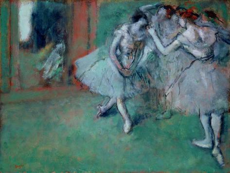 Group of Dancers, 1890s Lámina giclée
