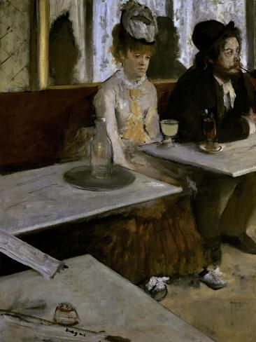 In a Cafe (The Absinthe) Giclee Print