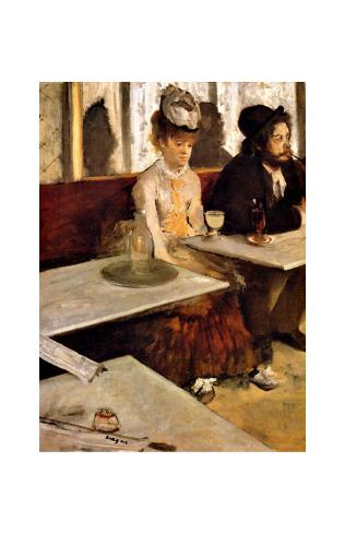 L'Absinthe Framed Giclee Print