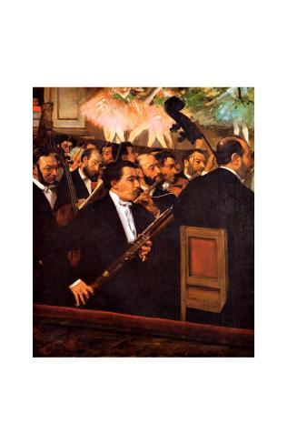 Orchestra at the Opera Giclee Print