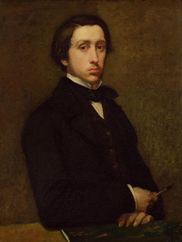 Self Portrait, 1855 Giclee Print
