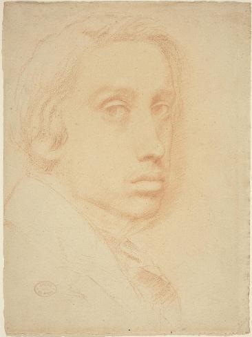 Self-Portrait, C.1855 Lámina giclée