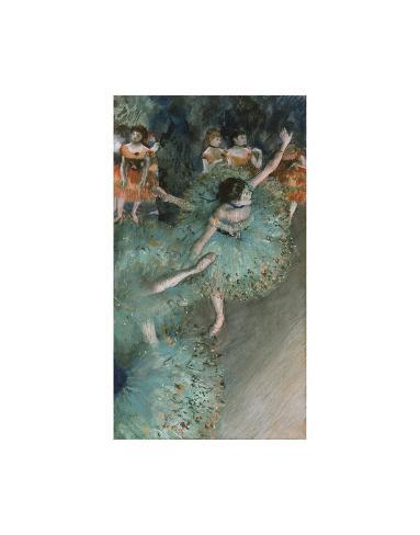 Swaying Dancer (Dancer in Green), from 1877 until 1879 Lámina