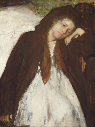 The Convalescent, c.1872-87 Lámina giclée