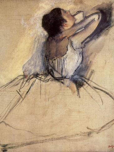 The Dancer, 1874 Giclee Print