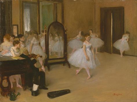 The Dancing Class, c.1871 Lámina giclée
