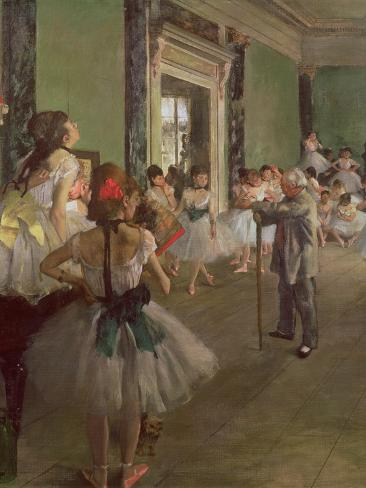 The Dancing Class, circa 1873-76 Giclee Print