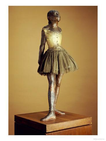 The Little Fourteen Year Old Dancer, Cast 1921 Giclee Print