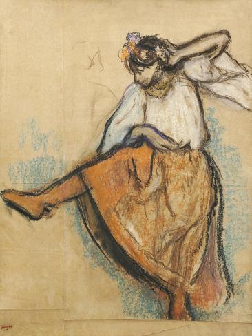 The Russian Dancer Giclee Print