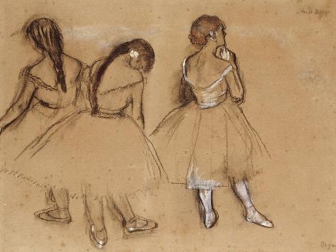 Three Dancers Giclee Print