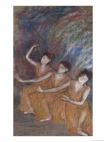 Trois Danseuses Giclee Print
