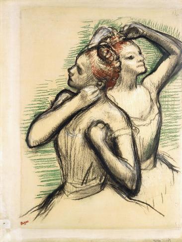 Two Dancers, C.1897 Lámina giclée