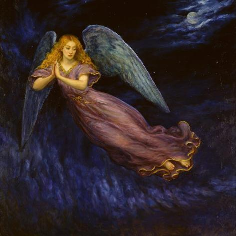 Good Night Angel Lámina giclée