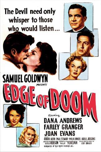 Edge of Doom Art Print