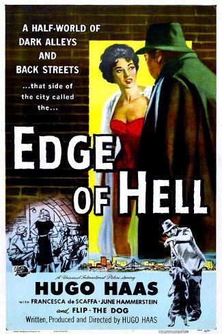 Edge of Hell Art Print