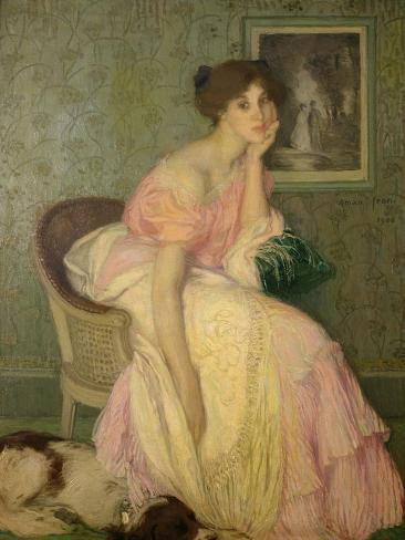 Portrait of a Young Girl, 1906 Giclee Print