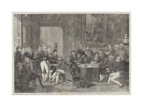 The Congress of Vienna Lámina giclée