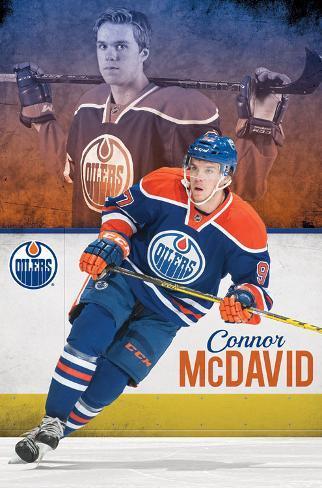 Edmonton Oilers Connor Mcdavid Poster