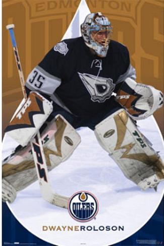 Edmonton Oilers (Dwayne Roloson) Poster